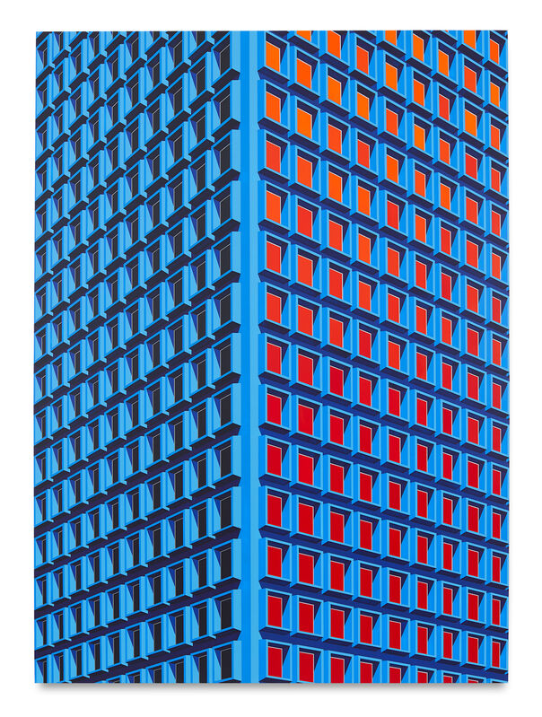 Daniel Rich, '909 3rd Ave, NYC (Large Version)', 2021, Painting, Acrylic on dibond, Miles McEnery Gallery