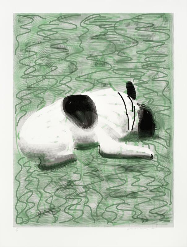 David Hockney, 'Moujik', 2010, Print, IPad drawing printed on paper, Galerie Lelong & Co.