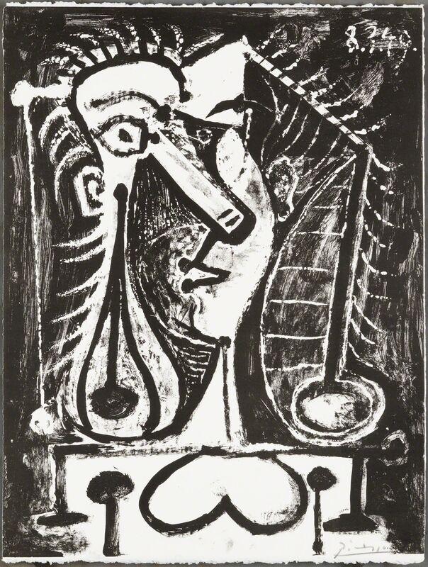 Pablo Picasso, 'Figure Composee I', 1949, Print, Lithoghraph, Christopher-Clark Fine Art