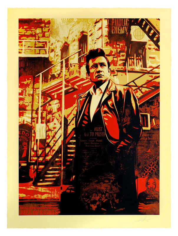 Shepard Fairey, 'Mass Incarceration', 2016, Print, 4-Color Serigraph on Varnished 100% Cotton Rag Archival Paper, Subliminal Projects