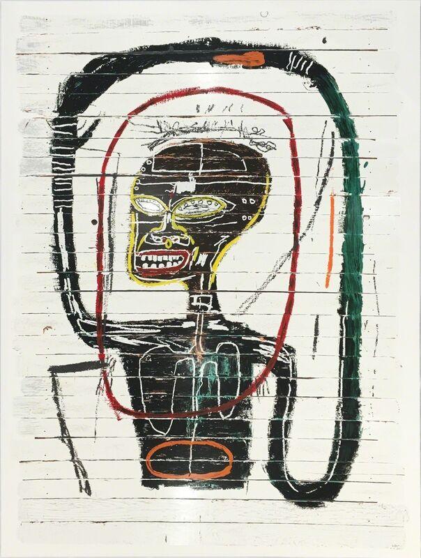 Jean-Michel Basquiat, 'Flexible', 2016, Print, Twenty Four Color Serigraph, Zane Bennett Contemporary Art