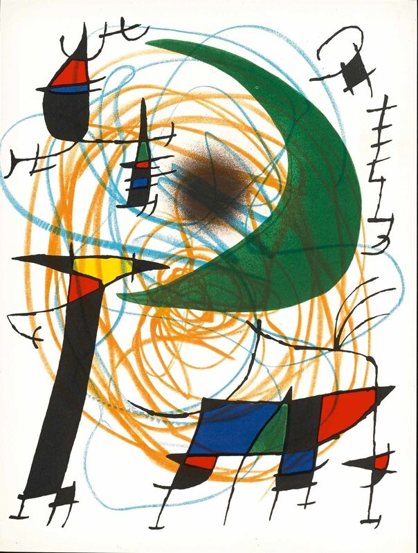 Joan Miró, 'Untitled (Lithographe I, M.861)', 1972, Print, Lithograph, Martin Lawrence Galleries