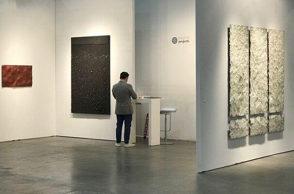 Bullseye Projects at LA Art Show 2018, installation view