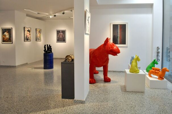 Editions all over, installation view