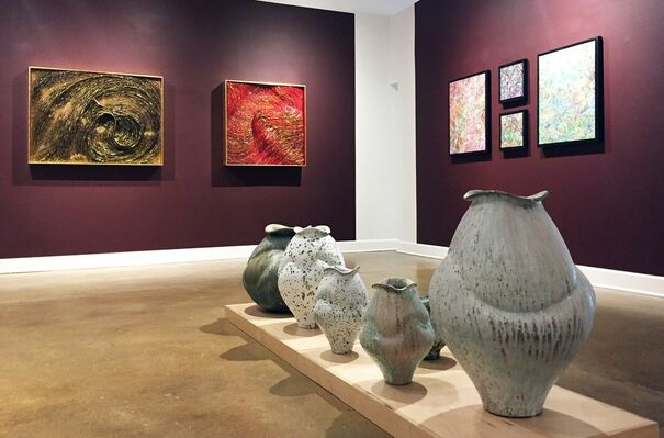 August Group Exhibition, installation view