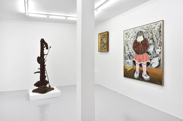 There once was Immendorff, installation view