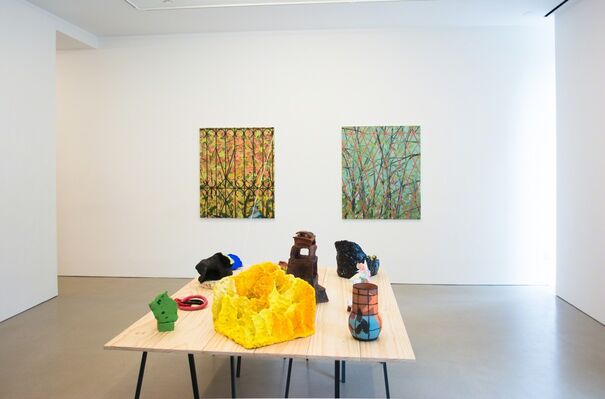 Paul Wackers: Early Settlers, installation view