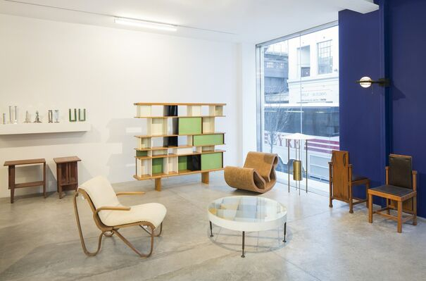 Inside the Walls: Architects Design, installation view