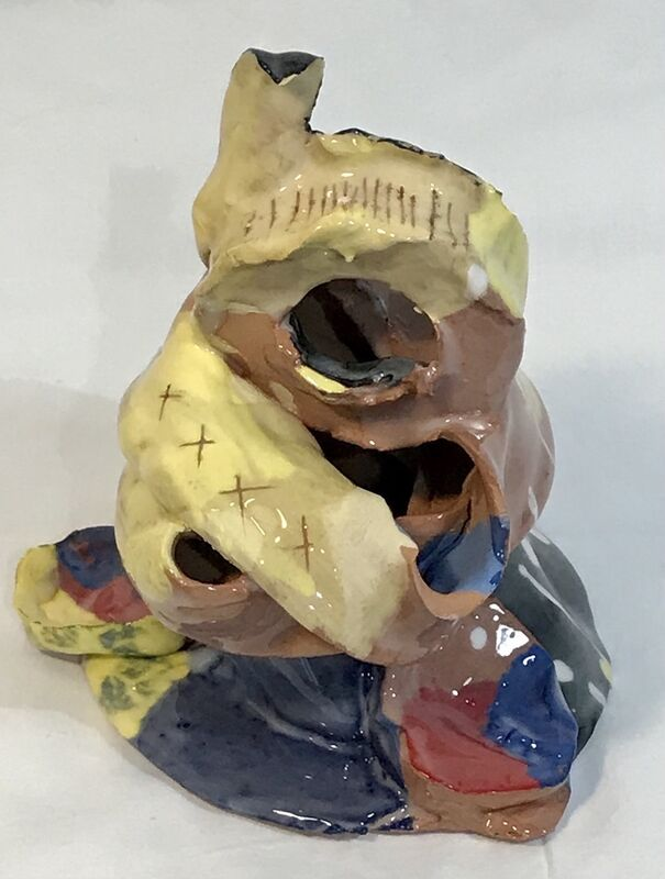 Mary Crenshaw, 'Toot', 2021, Sculpture, Glazed earthenware, The Painting Center