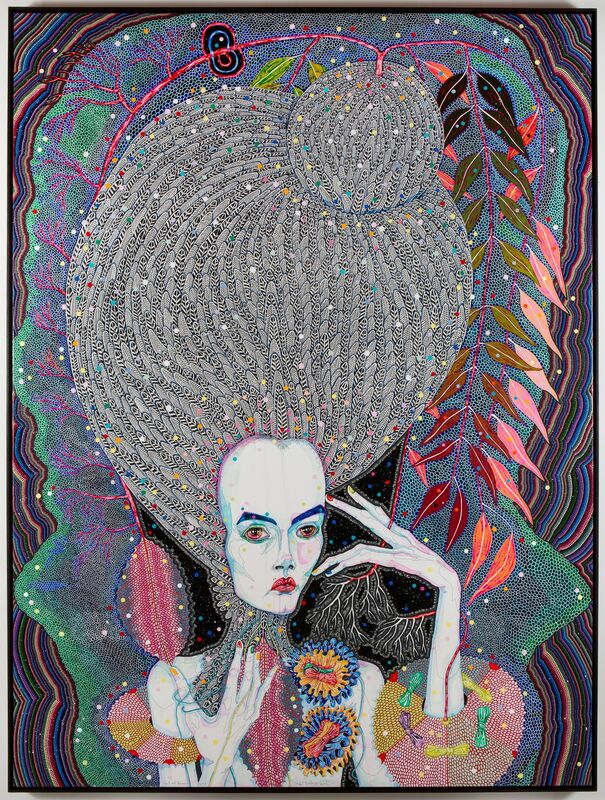 Del Kathryn Barton, 'but my dreams', 2013, Painting, Synthetic polymer paint and gouache on polyester canvas, Roslyn Oxley9 Gallery