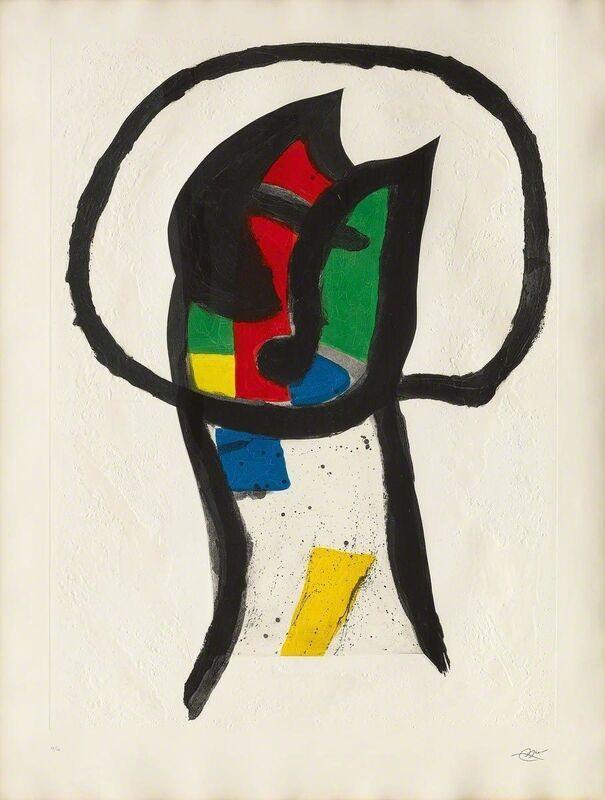 Joan Miró, 'Le Prédicateur', 1981, Print, Aquatinta and carborundum, Koller Auctions