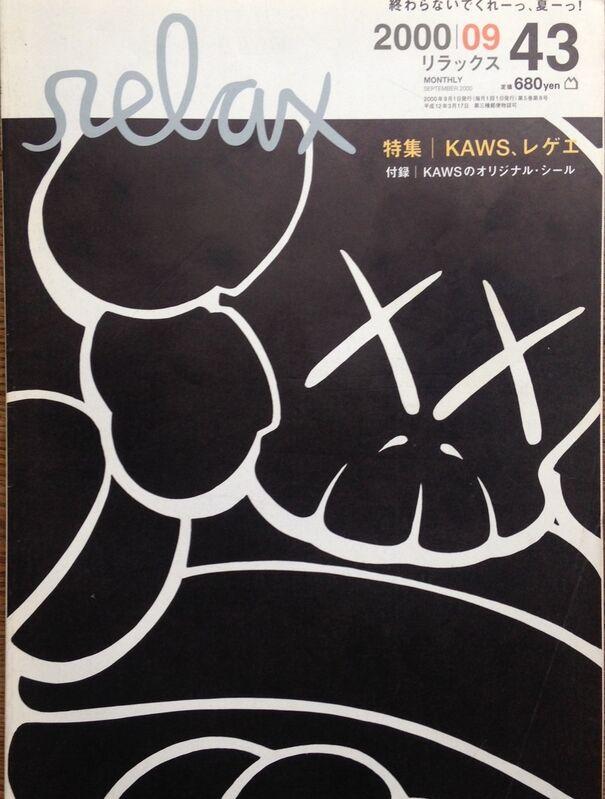 KAWS, 'Relax Magazine 2000 SEPT ISSUE 43', 2000, Ephemera or Merchandise, Magazine, Gallery 1890