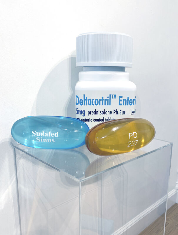 Damien Hirst, 'Deltacortril Enteric 5mg 30 enteric coated tablets ', 2014, Sculpture, Polyurethane resin with pigment finished with 2K clear lacquer, DTR Modern Galleries