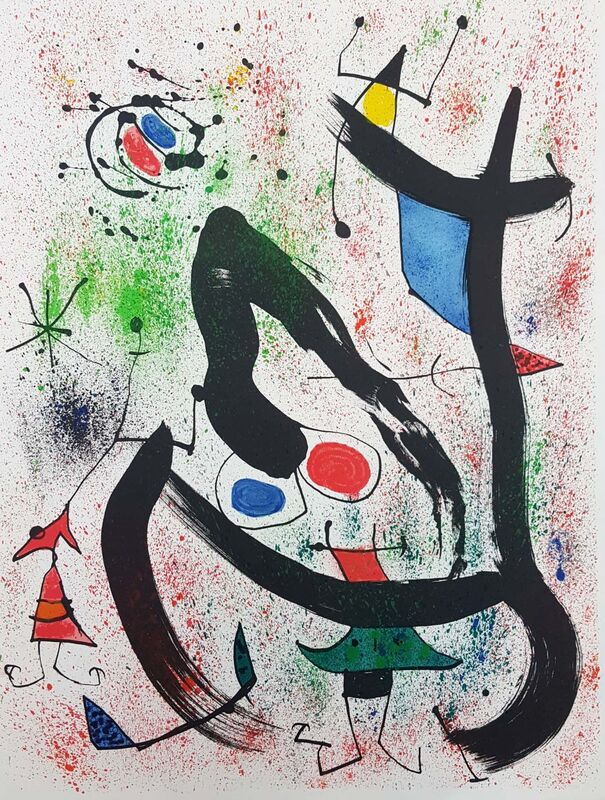 Joan Miró, 'The Seers IV (Les Voyants)', 1970, Print, Lithograph on Rives paper with full margins, Baterbys