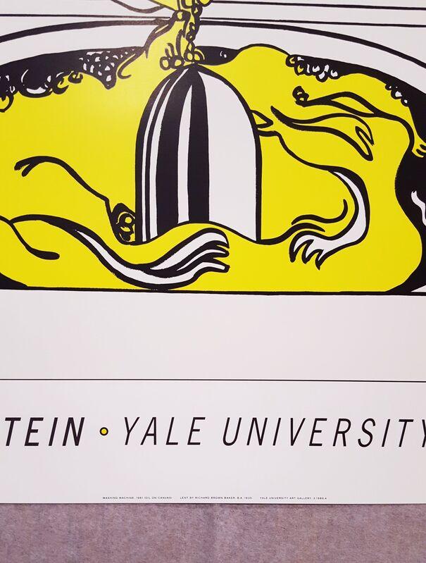 Roy Lichtenstein, 'Yale University Art Gallery (Washing Machine)', 1991, Posters, Offset-Lithograph Poster, Graves International Art