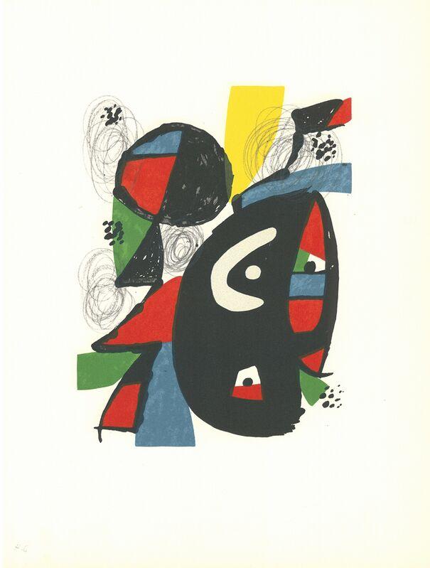 Joan Miró, 'La Mélodie Acide - 12', 1980, Print, Lithograph, Cerbera Gallery