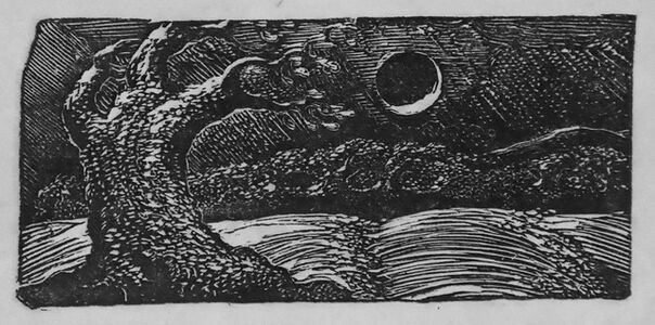 William Blake (1757-1827), 'The Blighted Corn', 1821