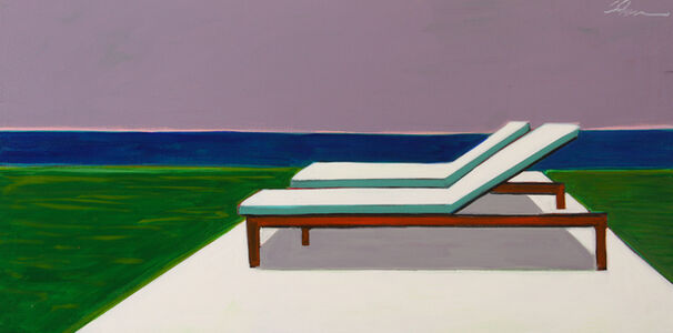 Melissa Chandon, 'Two Chaises with Ocean View', 2019
