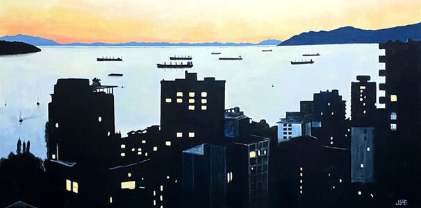 Jonathan Gleed, 'English Bay', 2020