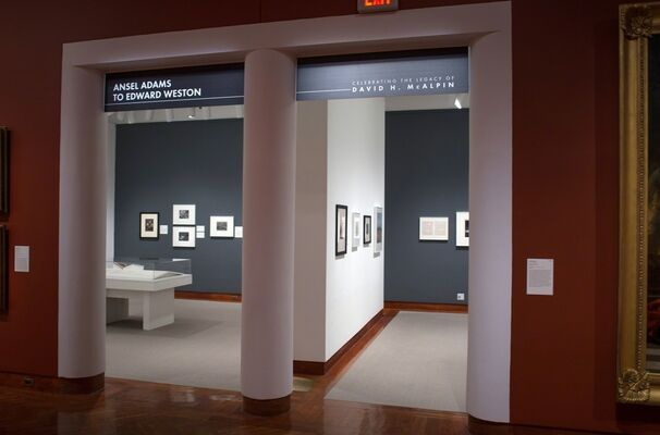 Ansel Adams to Edward Weston: Celebrating the Legacy of David H. McAlpin, installation view