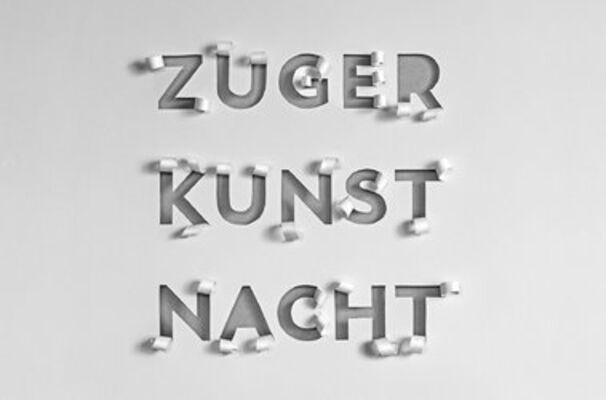 Zuger Kunstnacht, installation view