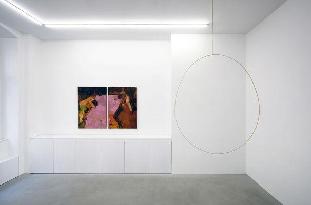 The Italian Open, installation view