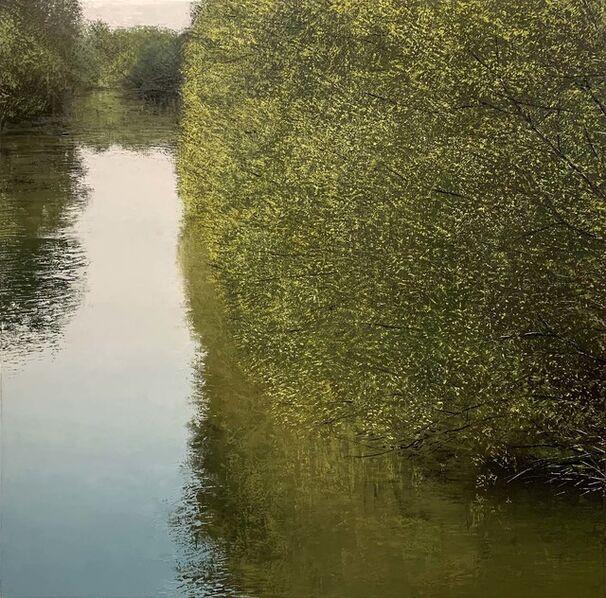 Benoît Trimborn, 'Rivière au printemps VIII', 2018