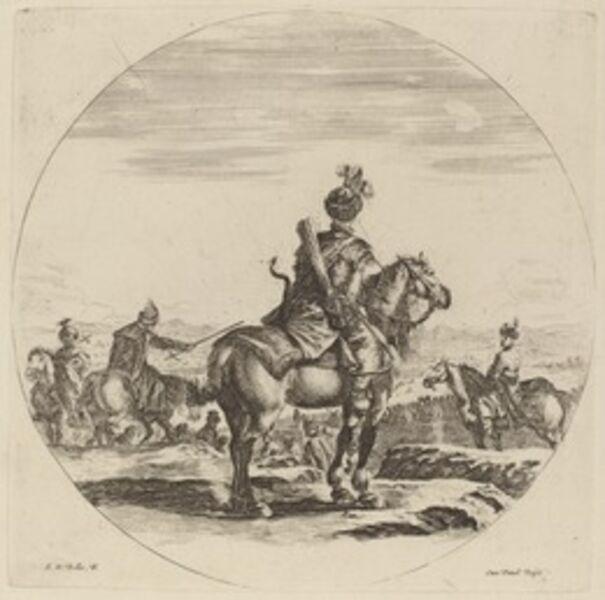 Stefano Della Bella, 'Polish Cavalier'
