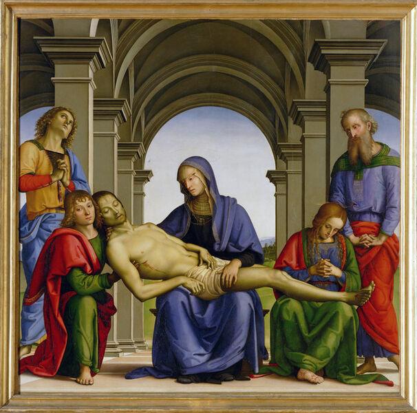 Pietro Perugino, 'Pietà', ca. 1493-1494