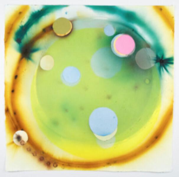 Rosemarie Fiore, 'Smoke Painting Eclipse, Yellow', 2015