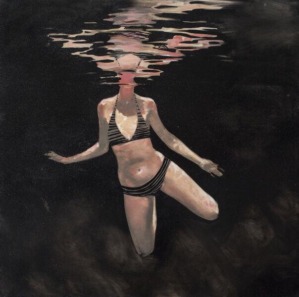 "Michael Carson, '""Night Swimming""', 2015"
