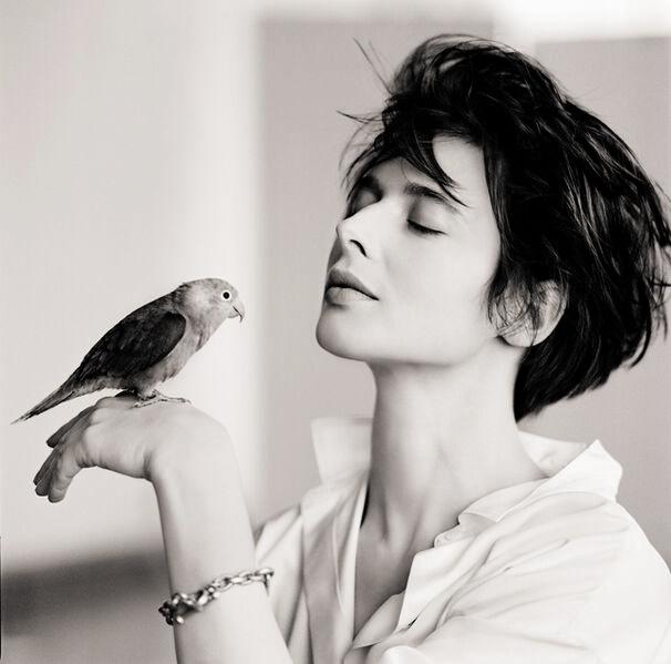 Matthew Rolston, 'Isabella Rossellini (Bird)', 1988