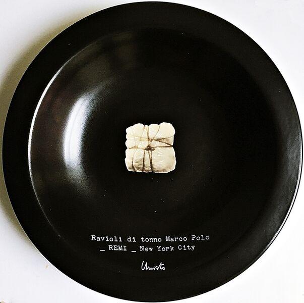 Christo, 'Ravioli di tonne Marco Polo - Remi - New York City', 2000