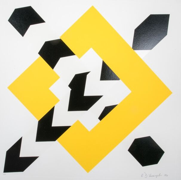 Allan D'Arcangelo, 'Constellation IV', 1972