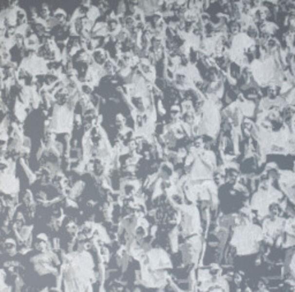 Wayne Gonzales, 'Cheering Crowd', 2007
