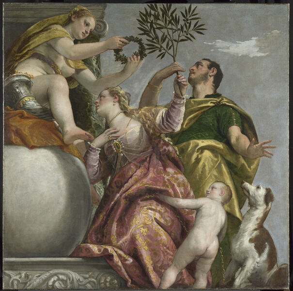 Paolo Veronese, 'Happy Union', about 1575