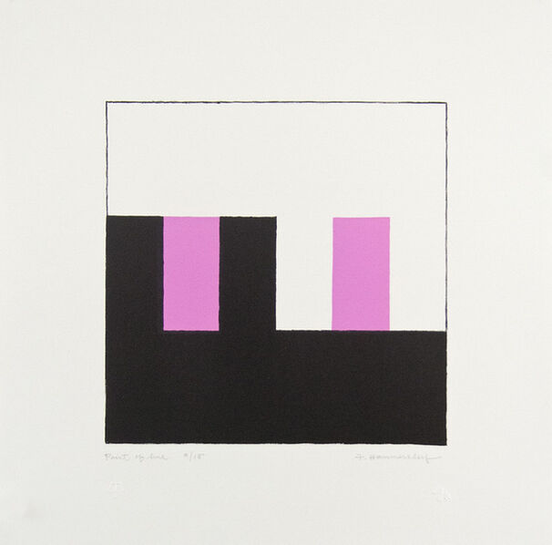 Frederick Hammersley, 'Point of Hue', 1991