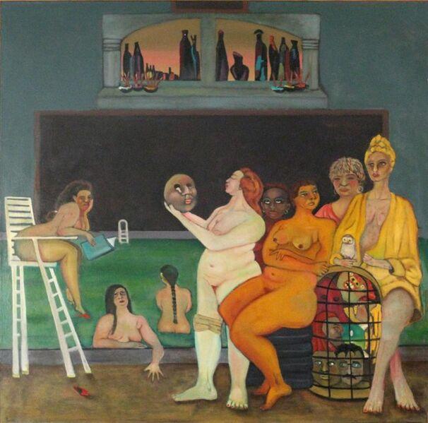 Stephen Basso, 'bathers (the kiss)', ca. 2006