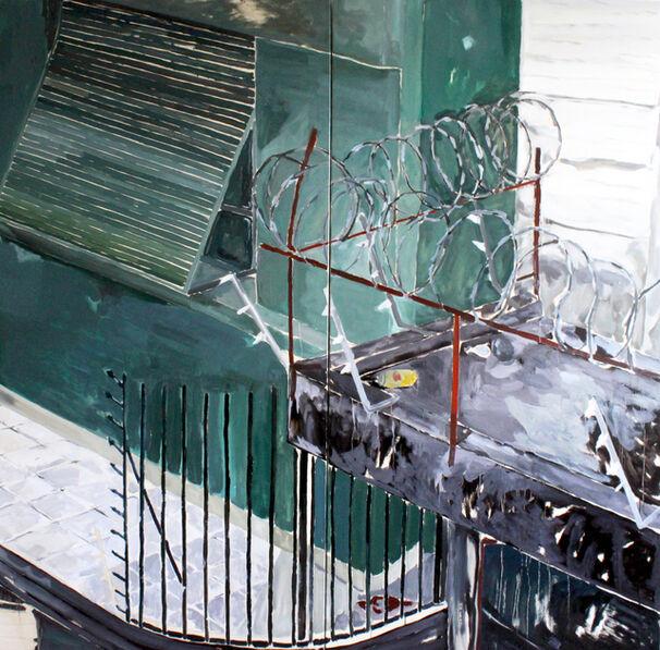 David Almeida, 'Conduta de risco #9', 2017