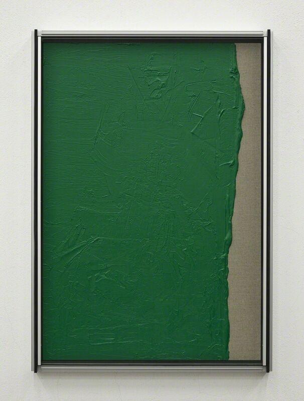 Cabrita, 'Les Verts #2', 2012, Painting, Acrylic on canvas, aluminium, glass, Mai 36 Galerie