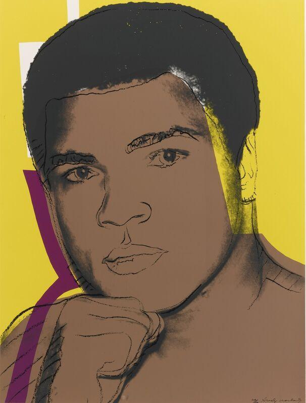 Andy Warhol, 'Muhammad Ali (FS II.182) ', 1978, Print, Screenprint on Strathmore Bristol Paper, Revolver Gallery