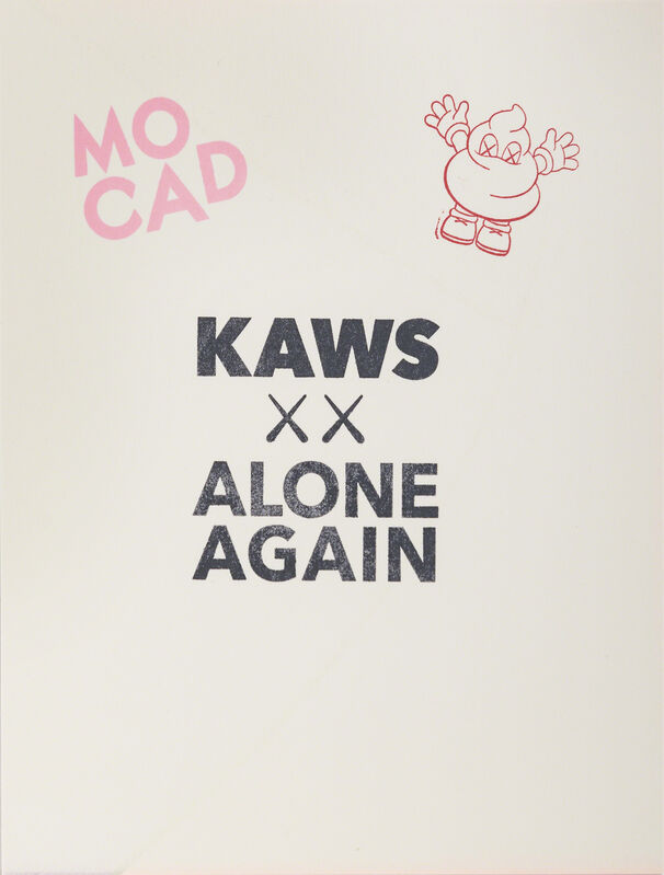 KAWS, 'UNTITLED (LIMITED EDITION KAWS MOCAD PRINT)', 2019, Print, Screenprint in colors on paper, DIGARD AUCTION