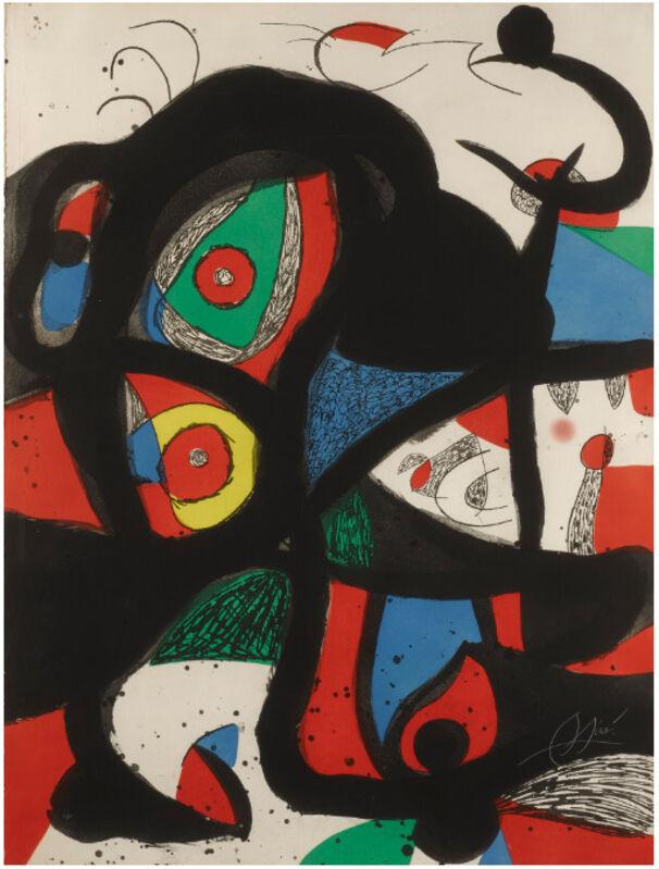 Joan Miró, 'Gargantua', 1977, Print, Aquatint etching with carborundum, Galerie Maximillian