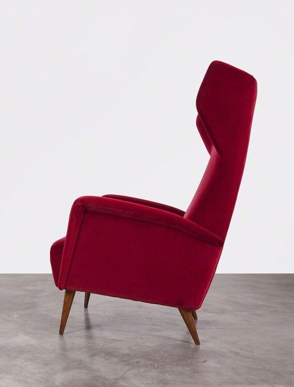 Gio Ponti, 'Armchairs Model 820', 1953, Design/Decorative Art, Wood and velvet upholstery, Giustini/Stagetti Galleria O. Roma