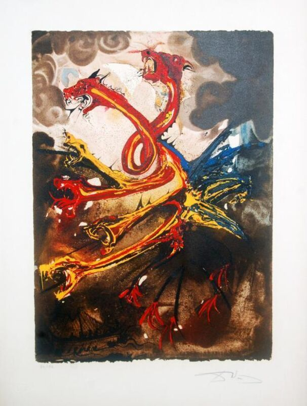 Salvador Dalí, 'Les Hydres (The Hydras)', 1974, Print, Lithograph on paper, Baterbys