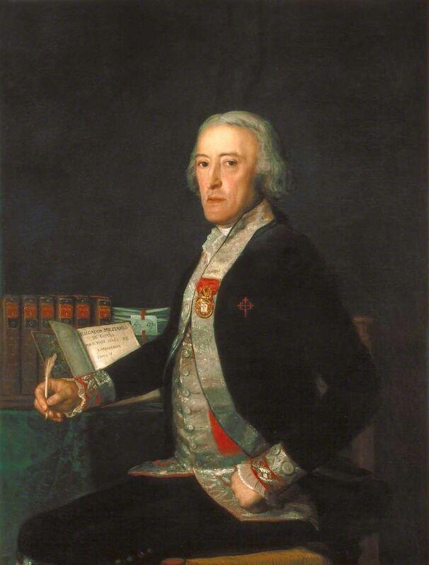 Francisco de Goya, 'Portrait of Félix Colón de Larriátegui', 1794, Painting, Oil on canvas, Indianapolis Museum of Art at Newfields