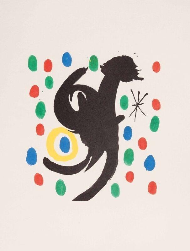 Joan Miró, 'Les Essencies de la Terra III', 1968, Print, Original lithograph on Japon nacré paper, Samhart Gallery