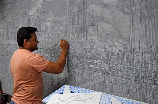 Donis Llago, installation view