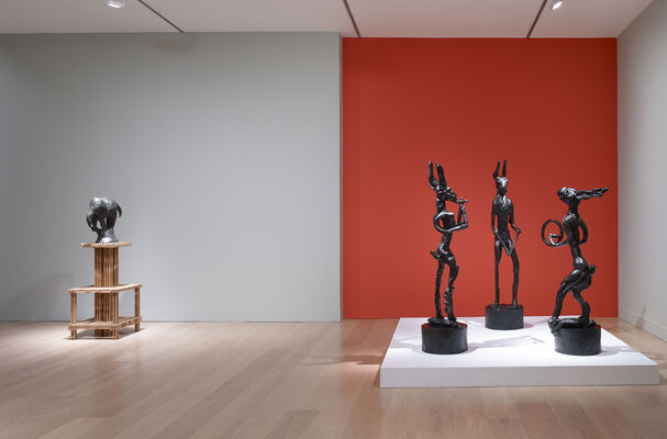 Barry Flanagan: Alchemy of the Theatre, installation view