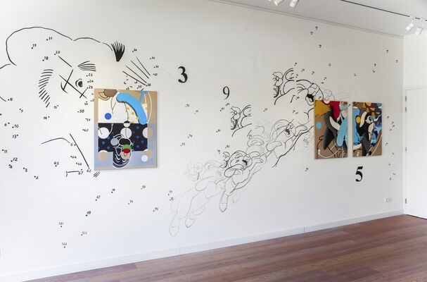 Just Like Giants, installation view